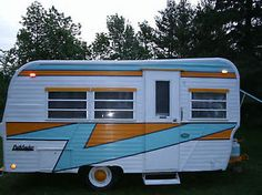 1969 Pathfinder Travel Trailer | Vintage Camper - caravan <O>