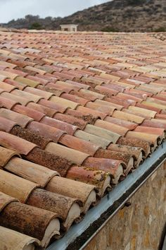 Exquisite Surfaces Spanish Tile Roof, Spanish House, Spanish Colonial, Exterior Paint Schemes, Red Tiles, Red Roof, Mexican Style, Rooftop, Backyard