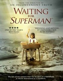 """[5 STARS] - """"Waiting for 'Superman'"""" - Not everyone would agree with me on this one but I cried maybe 8 times in the last 40 minutes of this film. As someone who cares close to little about education I was deeply moved by how much I seem to take it for granted. If you're a teacher - break your heart and see this film today."""