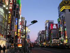 Streetscape rainbow in Shinjuku Japan  #city #streetscape #rainbow #shinjuku #japan