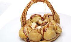 CHFF EVA ARGUIÑANO.-  Receta de Tarta Saint Honoré  ,.-  http://www.hogarmania.com/cocina/recetas/postres/200605/saint-honore-2083.html