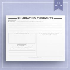 Behavioral Activation Psychotherapy Worksheet Template