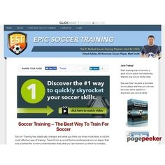 Epic Soccer Training - Improve Soccer Skills  #BikeRiding #EatHealthyQuotes #Exercise #GetOutAndRun #Health #HealthyMeals #HealthyRecipes #LiveLonger #LoseWeight #LoseWeightInAWeek #WeightLoss http://ift.tt/2u3cptr