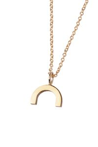 Necklace 'Mount'. True to Form - 14kt solid gold collection. www.theboyscouts.nl