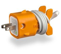 Goldie CableKeeps  They secure your USB docking cable to Apple™ power adaptors