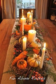 15 Gorgeous (cheap & easy!) DIY Thanksgiving Centerpieces | Orison Orchards