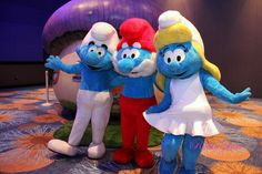 The Smurfs are BACK!!