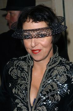 An extravagant headpiece became Blow's calling card. | 31 Reasons Why Fashion Icon Isabella Blow Is The Absolute Best