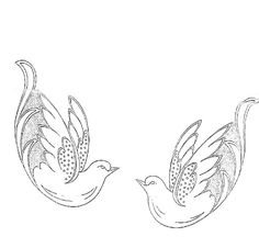 Large Database of Embroidery Patterns