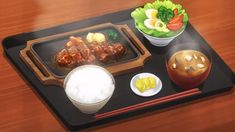 Japanese Food Names, Cute Food, Yummy Food, Healthy Food, Anime Bento, Food Sketch, Bento Recipes, Pokemon, Food Drawing