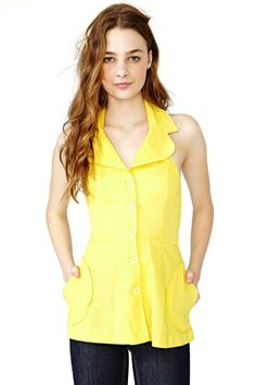 Sunshine Keeper Halter Blouse
