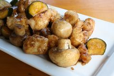 Mushroom Chicken Panda Express Recipe- just for you baby :) Wok Recipes, Asian Recipes, Cooking Recipes, Healthy Recipes, Copycat Recipes, Tagine Recipes, Zoodle Recipes, Jamaican Recipes, Lunch Recipes