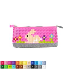 UPixel Pencil Case design for a bunny and flowers ...