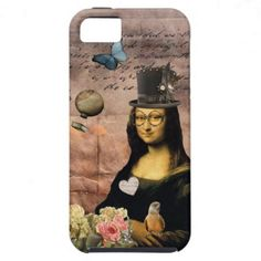 Pick up some new Punk iPhone cases and choose your favourite design from a variety of covers! Mona Lisa Parody, Surreal Artwork, Iphone 5 Cases, Surrealism, Steampunk, Victorian, Crafts, Gift, Shop