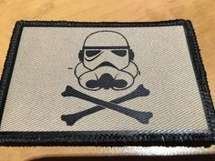 OMLpatches.com - PVC Vinyl Star Wars Jolly Roger Patch, $4.50 (http://www.omlpatches.com/pvc-vinyl-star-wars-jolly-roger-patch/)