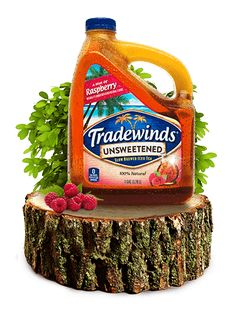 Just found our new Summerthyme iced tea addiction - Raspberry flavor is the real star of this Tradewinds® paradise brew. Simple slow-brewed tea leaves let the raspberry flavor do all the talking. And if you ask us, we could talk for days about how good this sweet escape to paradise is