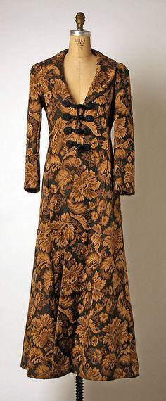 Coat, Biba, 1969. The Metropolitan Museum of Art