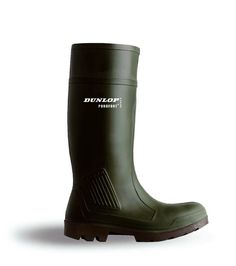 Purofort Non Safety Wellington Green - Wellingtons and Waders - Footwear - Best in the Country