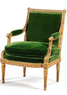Fauteuil d'époque Louis XVI, estampillé G. Iacob (Sotheby's)