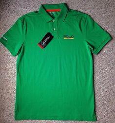 NEW NWT $98 Dry Fit POLO SPORT RALPH LAUREN SHIRT Short Sleeve Golf MEN SM & MED #PoloSport #PoloRugby