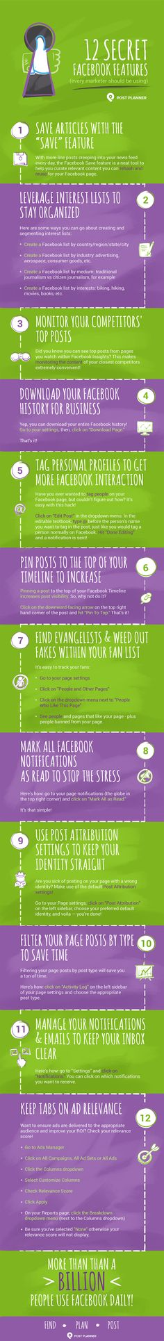 and one of them is Post Planner. Work smarter - schedule your posts. Facebook Marketing, Content Marketing, Social Media Marketing, Digital Marketing, Social Media Trends, Social Media Channels, Marketing Trends, Facebook Features, About Facebook
