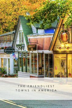 The Friendliest Towns in America via @PureWow