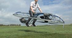 This homemade hoverbike is the future of personal aviation