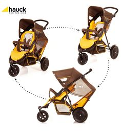 Hauck Freerider Tandem Pushchair - similar to phil n teds? cheap for new @Lynda Atkins