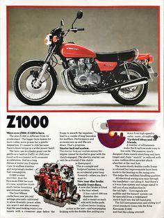 Vintage Bikes, Vintage Motorcycles, Cars And Motorcycles, Kawasaki Motorbikes, Kawasaki Motorcycles, Kawasaki Classic, Z 1000, Motorcycle Manufacturers, Drag Bike