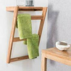 Woodworking Furniture, Diy Furniture, Furniture Design, Wall Mounted Towel Holder, Towel Rack Bathroom, Towel Hanger, Bathroom Interior, Room Decor, Shelves