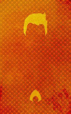 Les affiches minimalistes de super-héro par TheLincDesign