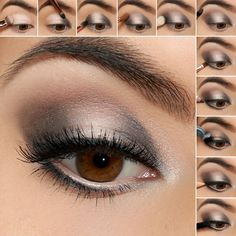 Step up your smokey eye game just in time for all of your holiday festivities with our Halo Smokey Eye Shadow Tutorial! Our full tutorial is on the blog!