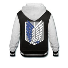 I neeeedd this! Attack On Titan Hoodie Cosplay Outfits, Anime Outfits, Cool Outfits, Anime Inspired Outfits, Attack On Titan Hoodie, Anime Merchandise, Titans, T Shirts For Women, Hoodies