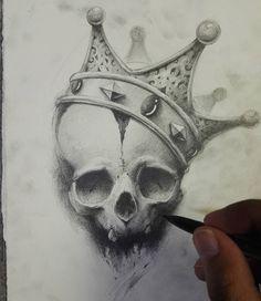 WEBSTA @ andreyskull - Just a sketch from imagination
