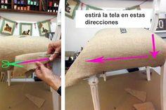 Seguí las instrucciones y animate a renovar el aspecto de tus asientos