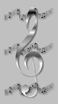 New Music Artwork Instruments Ideas Music Note Symbol, Music Notes Art, Music Symbols, Music Drawings, Music Artwork, Art Music, Violin Music, Musik Wallpaper, Iphone Wallpaper