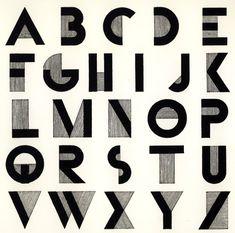 Art Deco Fonts History of Design - Robbie Ulrich: Art Deco - Assignment