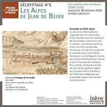 Les Alpes de Jean de Beins - Musée de l'Ancien Evêché