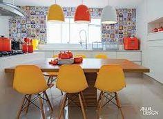 painel de azulejos coloridos cozinha - Pesquisa Google