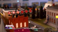 Amato's Toy & Hobby: Train (:15) - This is a busy time of year for Santa but he still manages to stop by Amato's Toy & Hobby in Middletown to check out Amato's toy train land...and it's free! Enjoy this wonderful holiday tradition. http://www.amatostoyandhobby.com