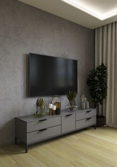 Shades of calm, by Anastasia Mayako – Modern İnterior Design Living Room Tv Unit Designs, Interior Decorating, Interior Design, House 2, Small Apartments, Bedroom Furniture, Sweet Home, Luxury, Home Decor