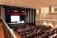 The Marana Auditorium is a great venue for a conference or seminar.