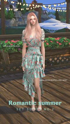 [Newen]   Sims4 Wrab See through Blouse    Top New Mesh All load 20Swatches * T. O. U * Do not unauthorized distribution. Do not re-edit & recolor it without my permission. Please be sure to mark...