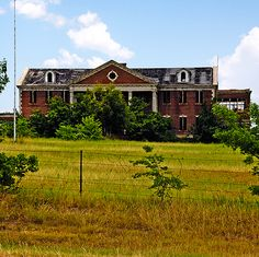 The Woodmen's Circle Home in Sherman, Texas. If I was from a rich family I would donate a house instead of letting it sit and decay.