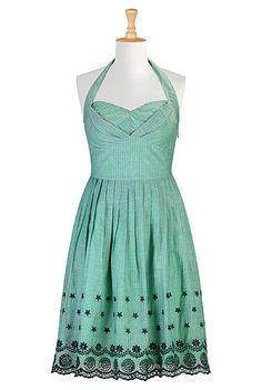 #Green #Bridesmaids #Dress, #eShakti
