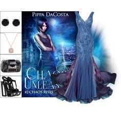 Book Look: Chaos Unleashed By Pippa Dacosta by xmikky on Polyvore featuring Casadei and BERRICLE