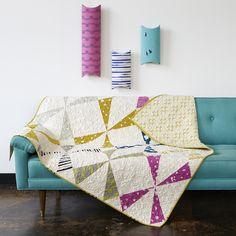 Cotton + Steel Windmill Quilt Pattern