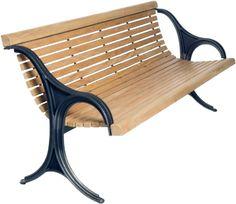 EPOCA - wooden bench for urban lanscape