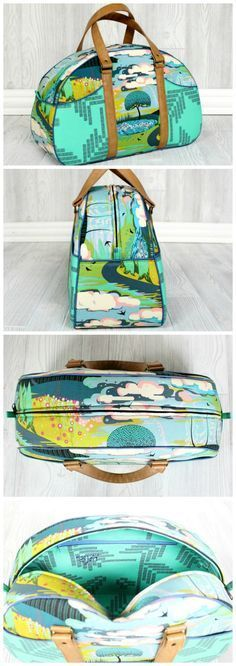 Video tutorial for how to sew the Betty Bowler purse sewing pattern.