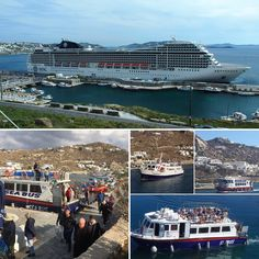 #Mykonos #SeaBus connects the two ports of #Mykonos .. #Easy & #fun ..